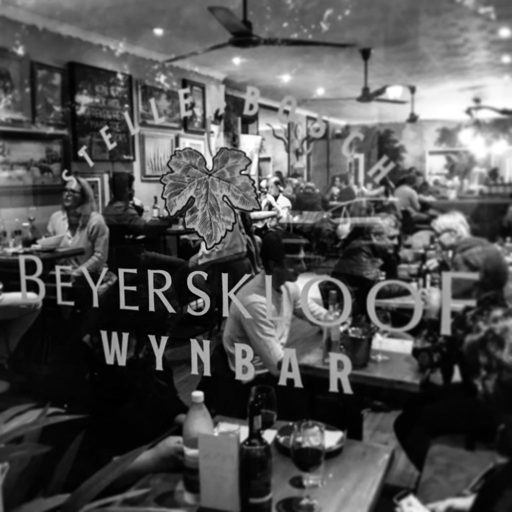 restaurants in Stellenbosch Beyerskloof Wine Bar