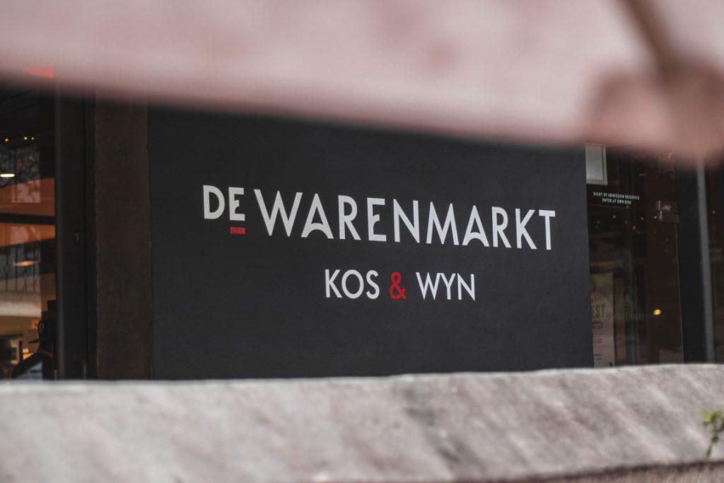 restaurants in Stellenbosch De Warenmarkt