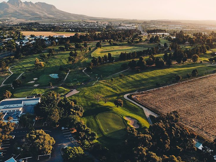 Golf course in Stellenbosch