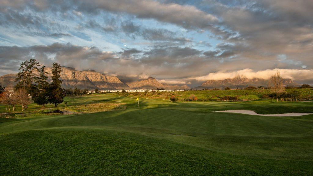 Golf course in Stellenbosch