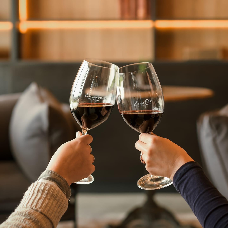 Ernie Els wine tasting