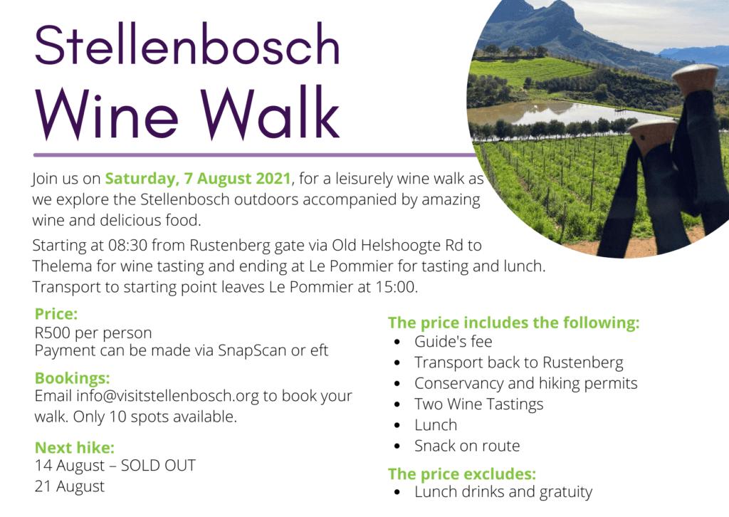 Stellenbosch Wine Walk